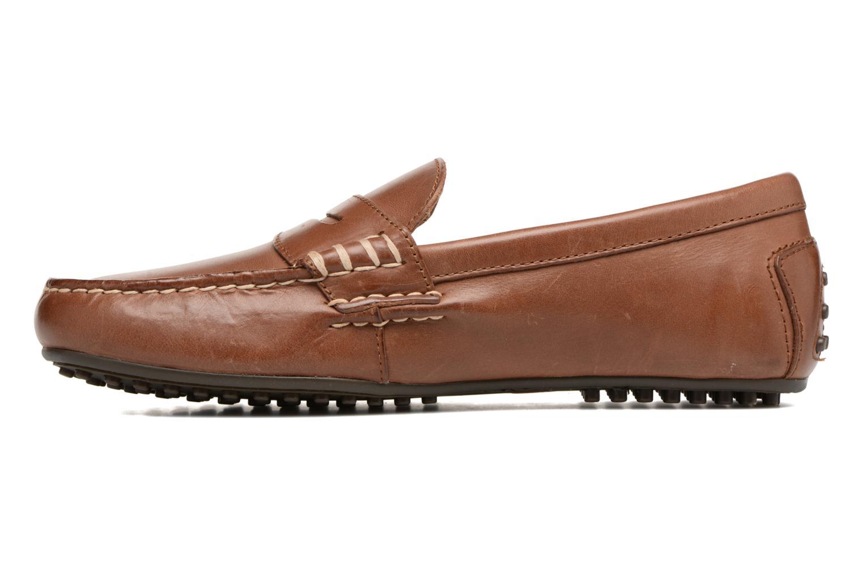 Loafers Polo Ralph Lauren Wes Brun bild från framsidan