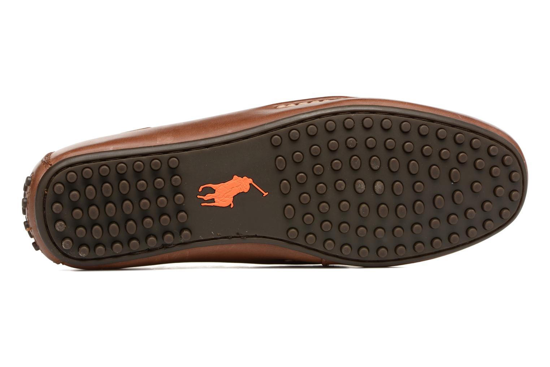 Loafers Polo Ralph Lauren Wes Brun bild från ovan