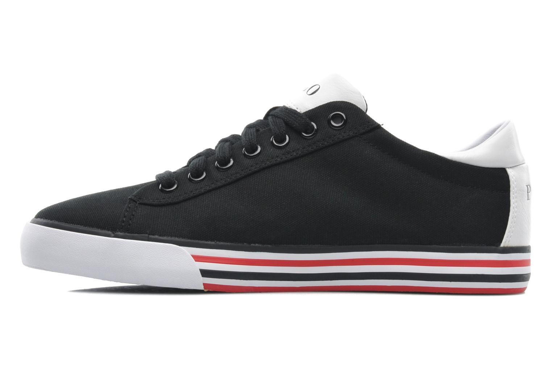 Sneakers Polo Ralph Lauren Harvey Zwart voorkant