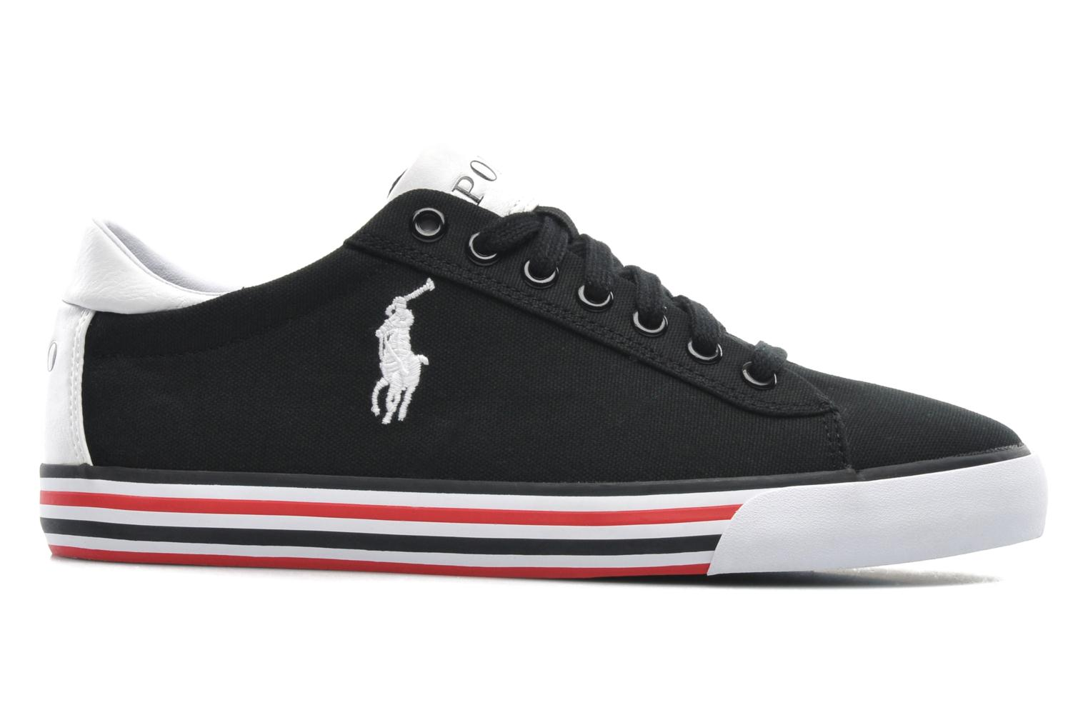 Sneakers Polo Ralph Lauren Harvey Sort se bagfra