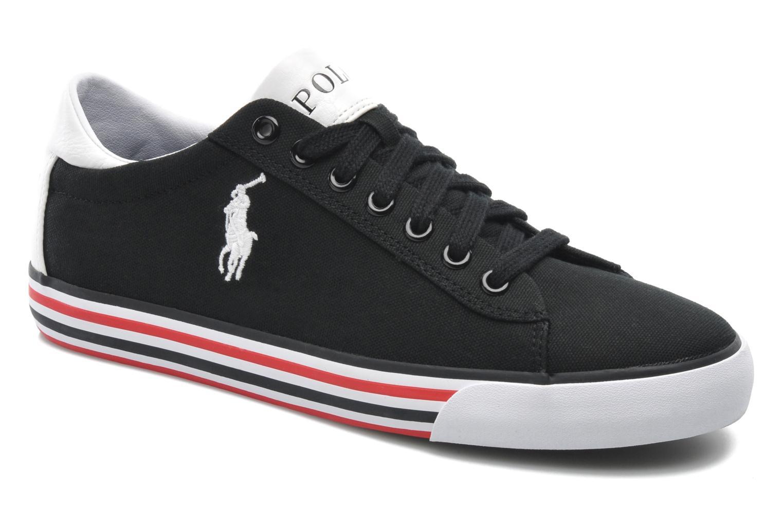 Sneakers Polo Ralph Lauren Harvey Zwart detail