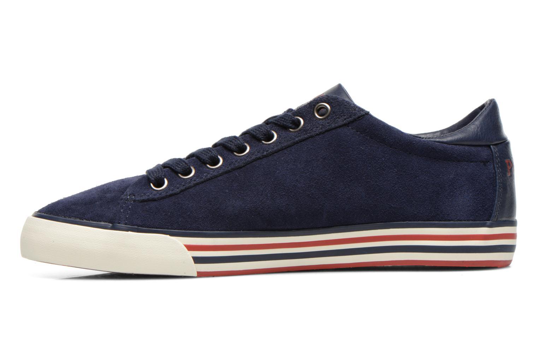 Sneakers Polo Ralph Lauren Harvey Blauw voorkant