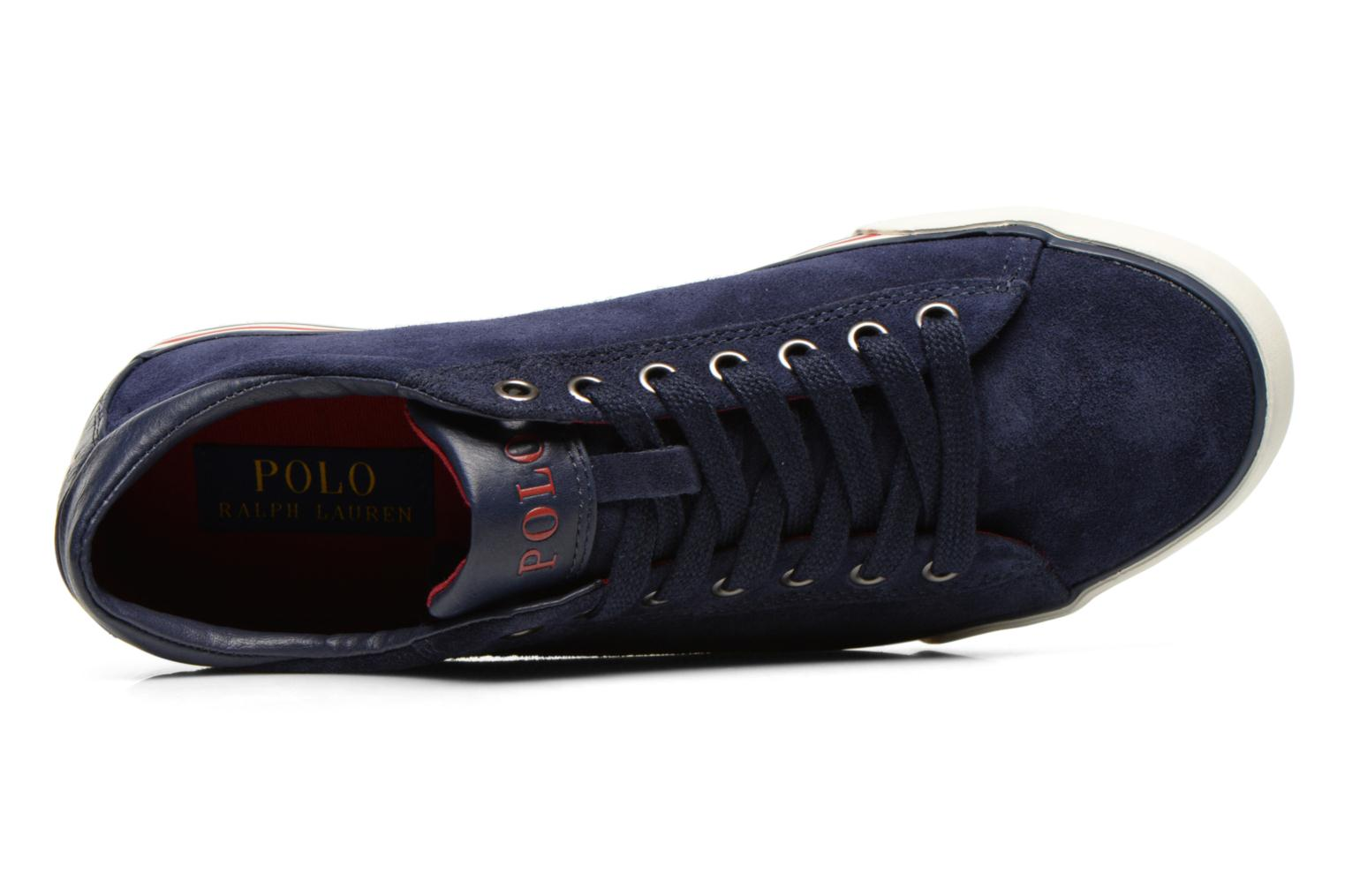 Baskets Polo Ralph Lauren Harvey Bleu vue gauche