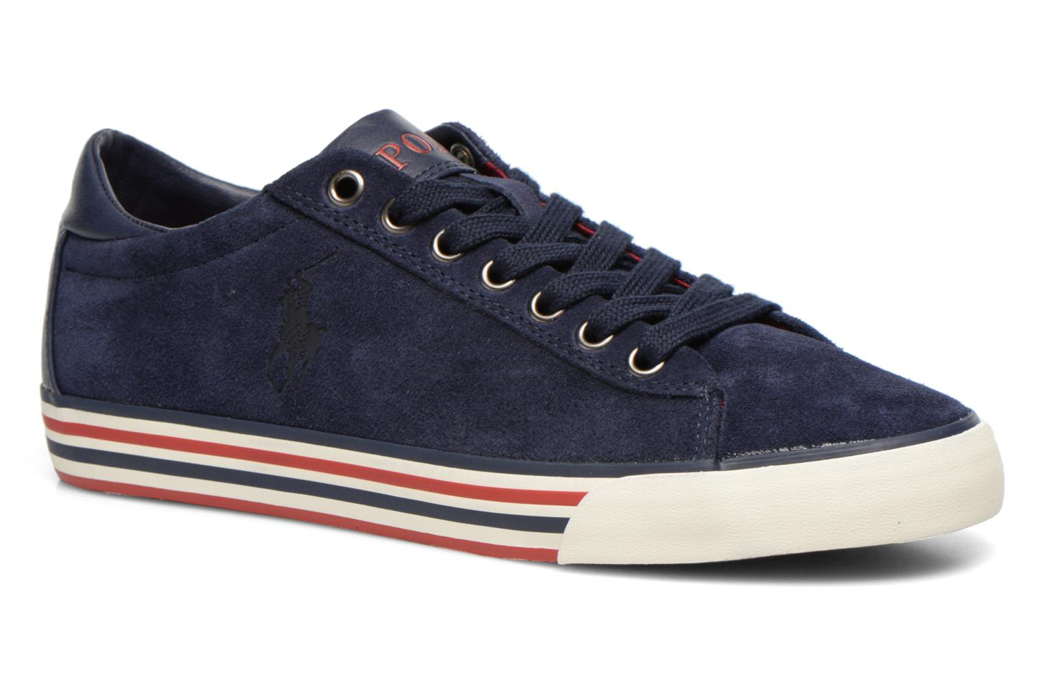 Baskets Polo Ralph Lauren Harvey Bleu vue détail/paire