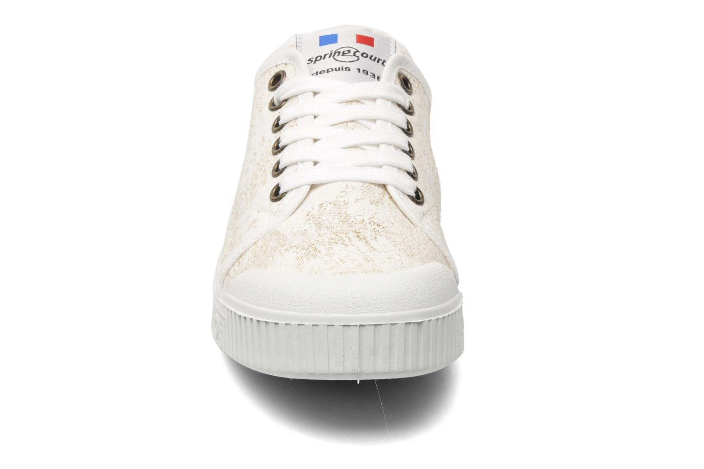 Sneaker Spring Court G2 Goldust W weiß schuhe getragen