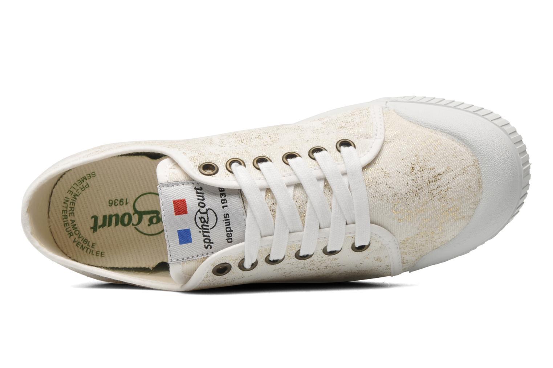 Sneaker Spring Court G2 Goldust W weiß ansicht von links