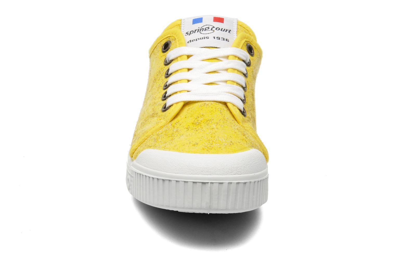 Sneaker Spring Court G2 Goldust W gelb schuhe getragen