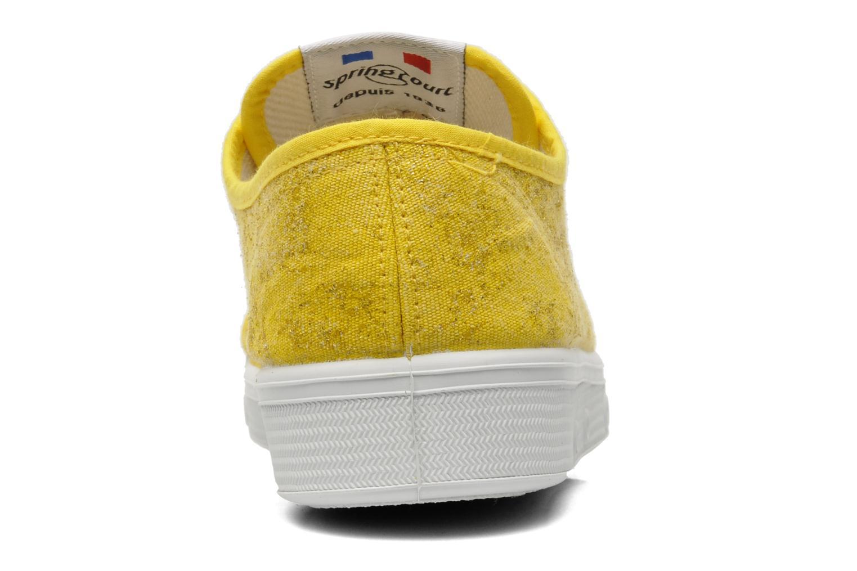 Sneaker Spring Court G2 Goldust W gelb ansicht von rechts