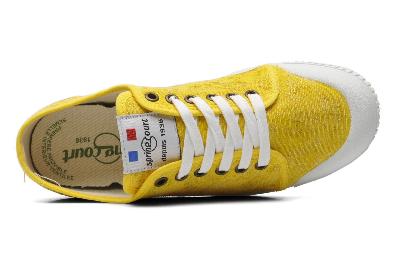 Sneaker Spring Court G2 Goldust W gelb ansicht von links