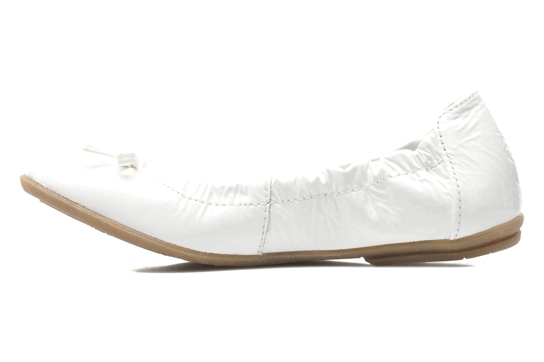 Ballerinaer Ramdam by GBB LISBONNE Hvid se forfra