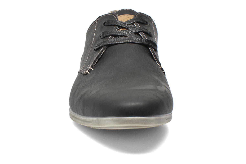 Chaussures à lacets I Love Shoes Suboites Noir vue portées chaussures