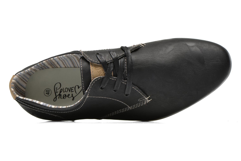 Chaussures à lacets I Love Shoes Suboites Noir vue gauche