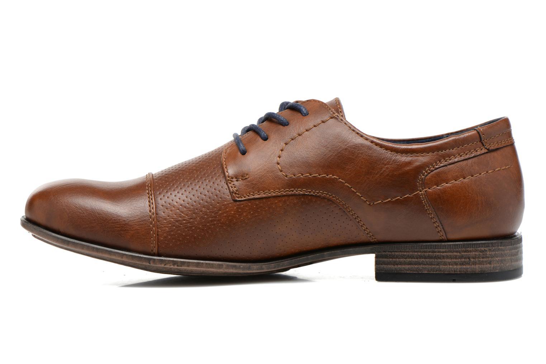 Veterschoenen I Love Shoes Suréponds Bruin voorkant