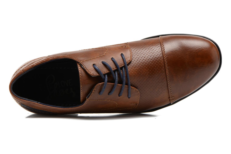 Veterschoenen I Love Shoes Suréponds Bruin links
