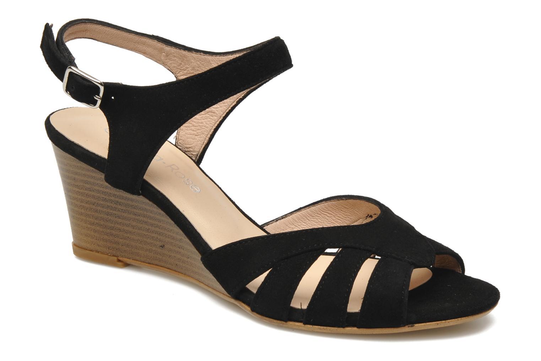 Sandales et nu-pieds Georgia Rose Lollo Noir vue détail/paire