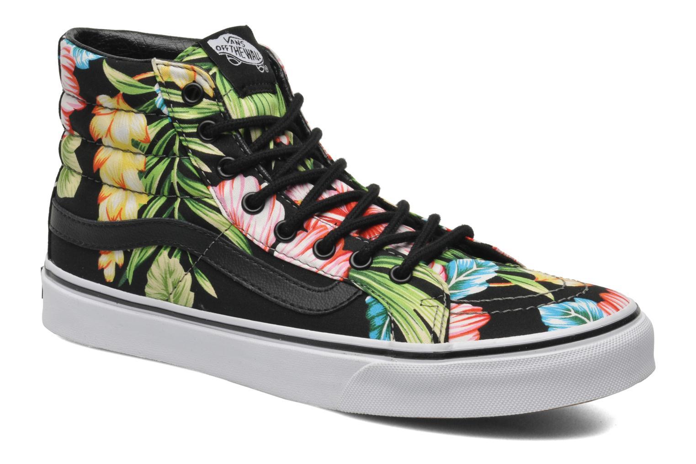 Sk8-Hi Slim W (Hawaiian Floral) black