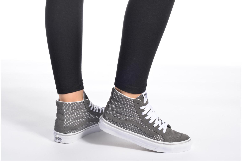 Sneakers Vans Sk8-Hi Slim W Multicolore immagine dal basso