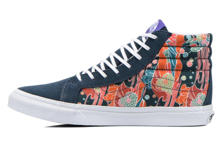 Baskets Vans Sk8-Hi Slim W Multicolore vue face