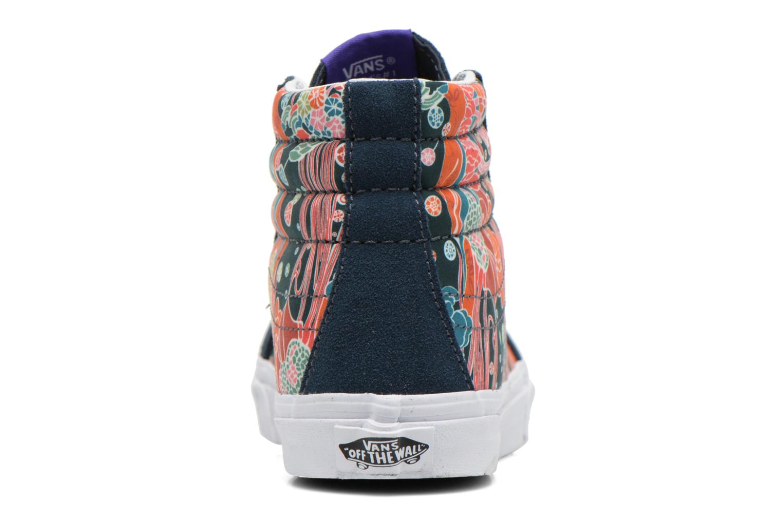Trainers Vans Sk8-Hi Slim W Multicolor view from the right