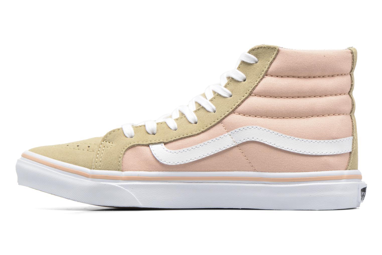 Sneaker Vans Sk8-Hi Slim W beige ansicht von vorne
