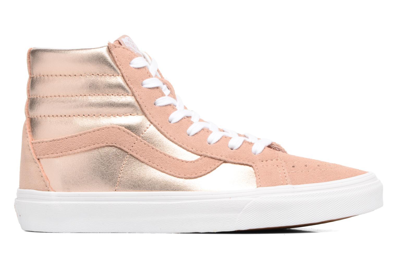 Sneakers Vans Sk8-Hi Reissue W Roze achterkant