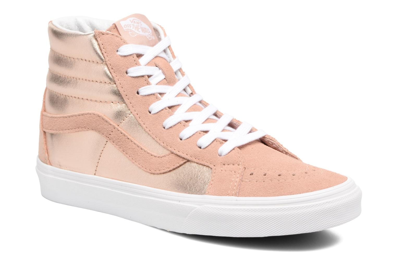 Sk8-Hi Reissue W Mahogany Rose/True White