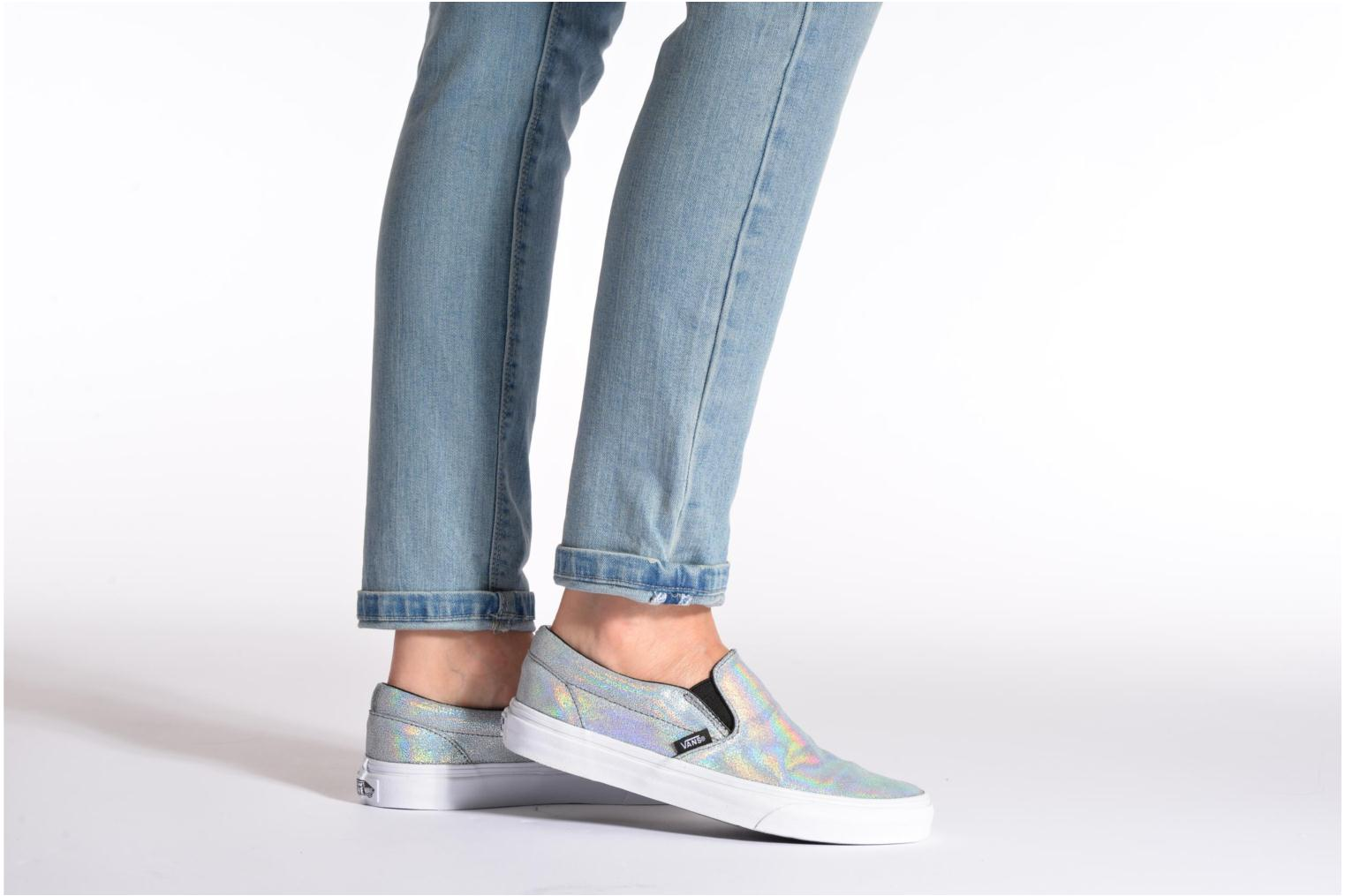 Trainers Vans Classic Slip-On W White view from underneath / model view