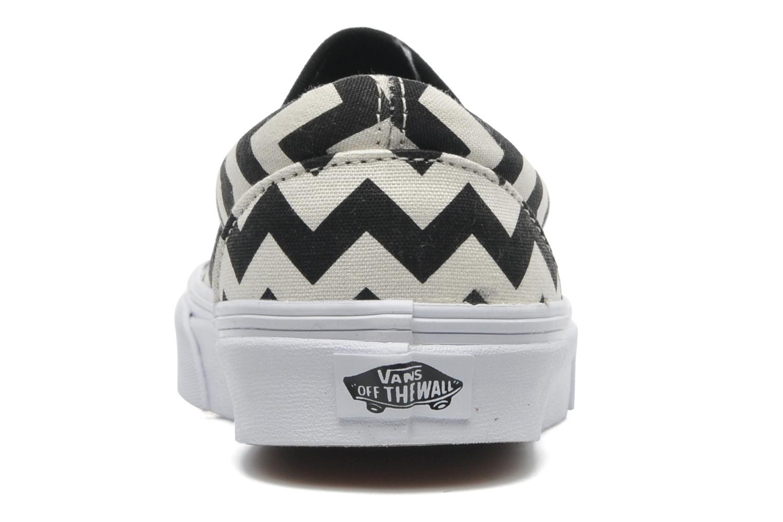 Classic Slip-On W (Chevron) Black/True White