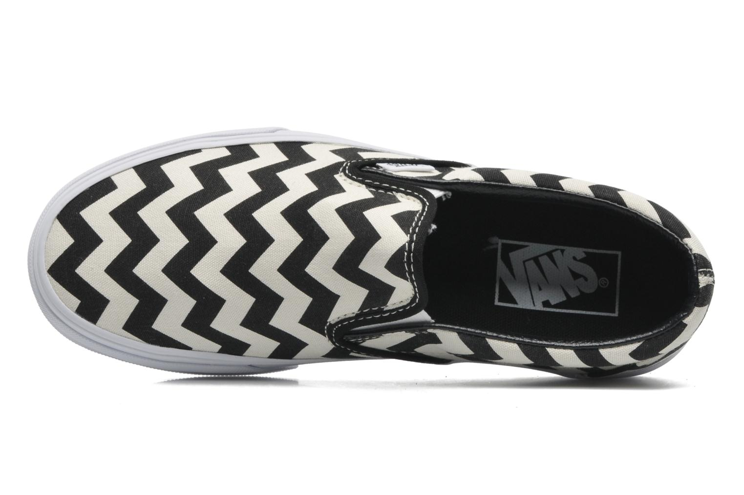Trainers Vans Classic Slip-On W White view from the left