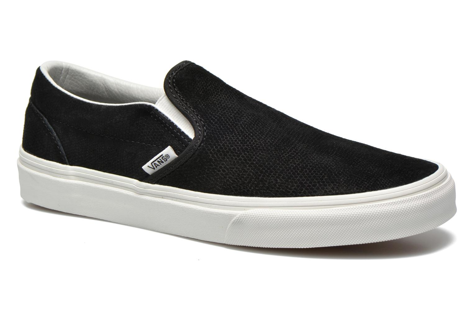 Trainers Vans Classic Slip-On W Black detailed view/ Pair view