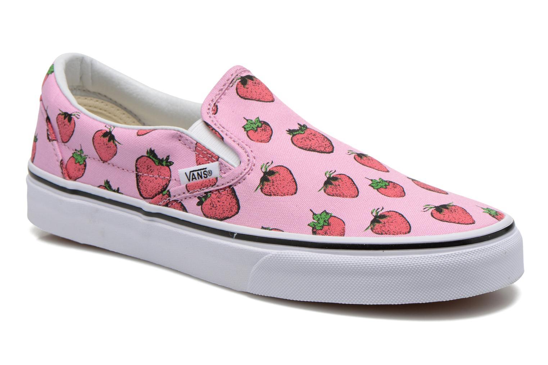 Classic Slip-On W (Strawberries) pastel lavender/true white