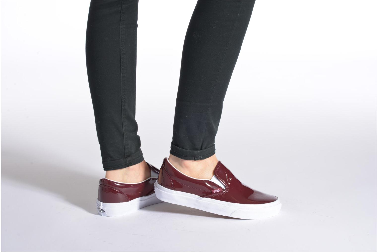 Trainers Vans Classic Slip-On W Multicolor view from underneath / model view