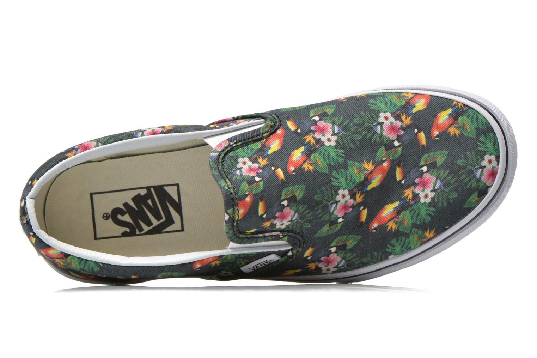 Sneaker Vans Classic Slip-On W mehrfarbig ansicht von links