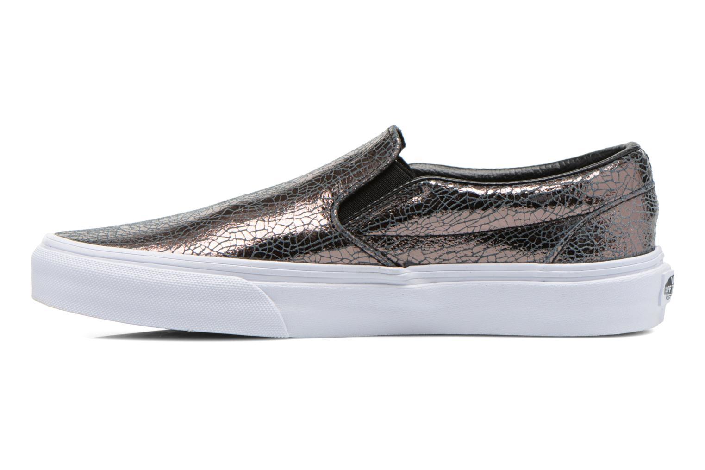 Sneakers Vans Classic Slip-On W Zilver voorkant