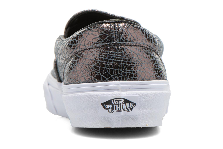 Sneakers Vans Classic Slip-On W Zilver rechts