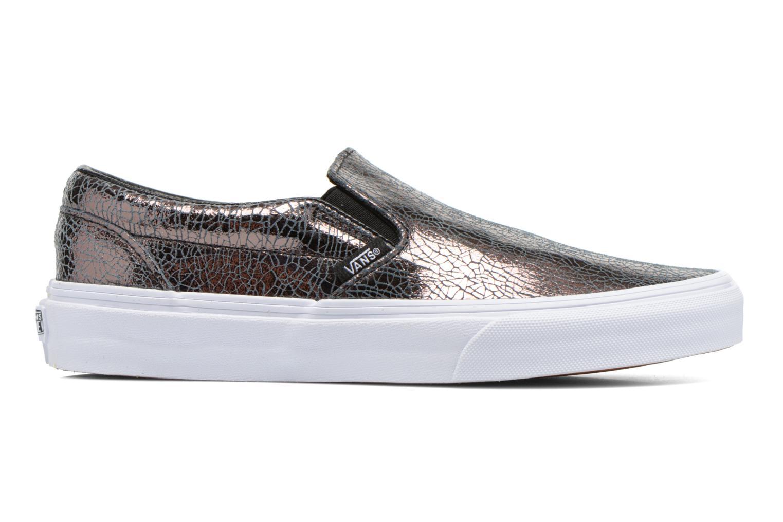 Sneakers Vans Classic Slip-On W Zilver achterkant