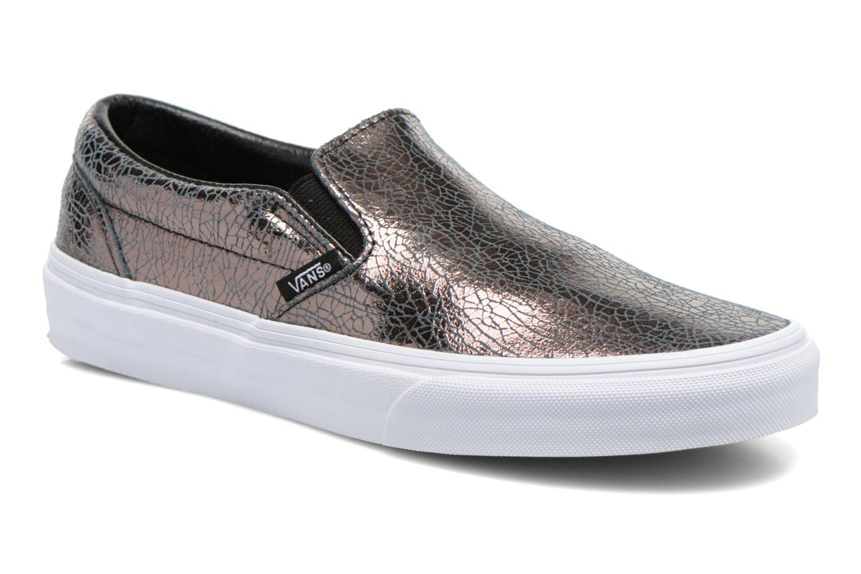 Sneakers Vans Classic Slip-On W Zilver detail