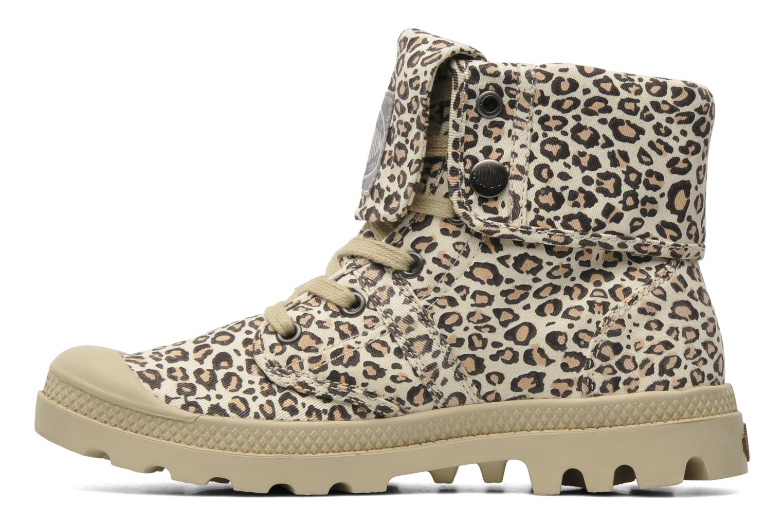 Sneakers Palladium Baggy Animals F Multicolor voorkant