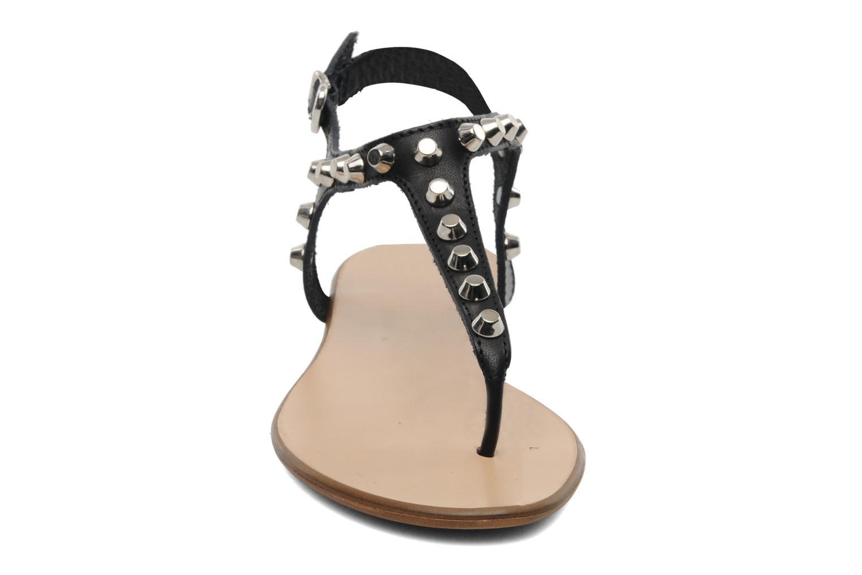 Sandales et nu-pieds Georgia Rose Lucette Noir vue portées chaussures