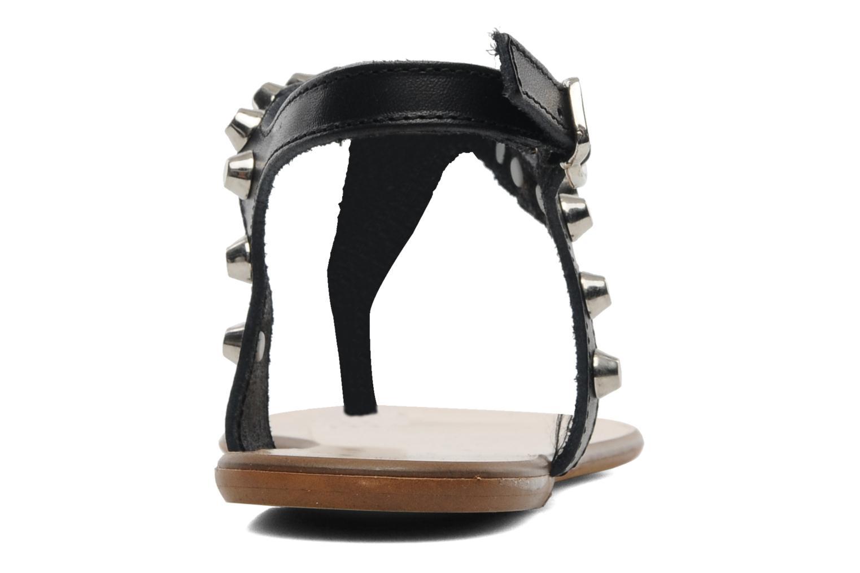 Sandales et nu-pieds Georgia Rose Lucette Noir vue droite