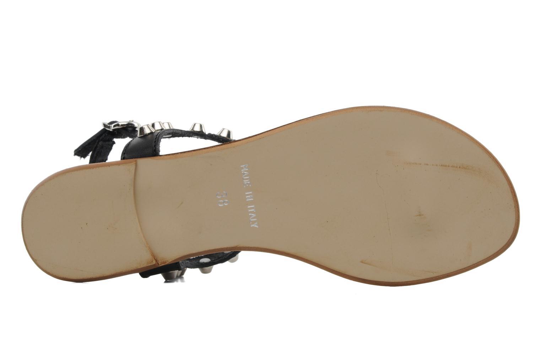 Sandales et nu-pieds Georgia Rose Lucette Noir vue haut