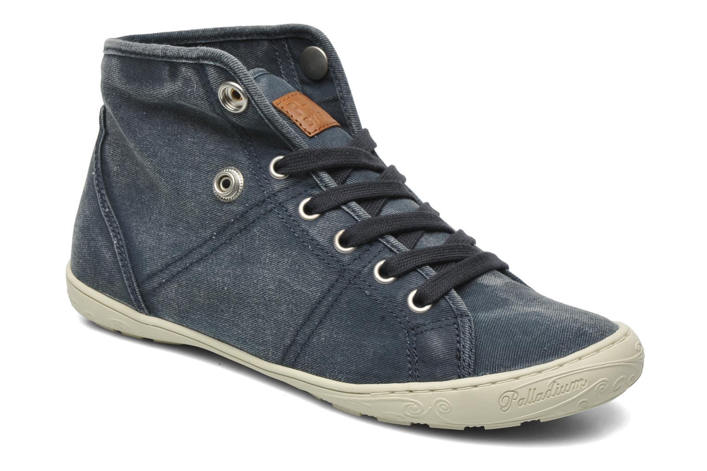 Sneakers P-L-D-M By Palladium Gaetane Twl Blå 3/4 billede