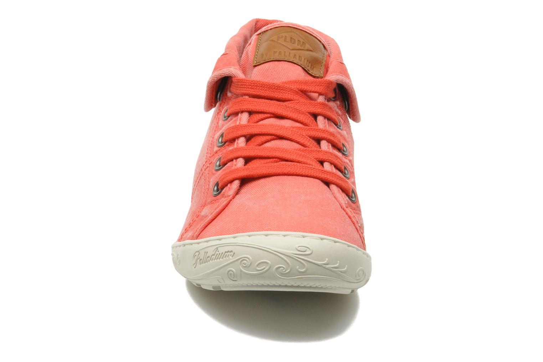Baskets P-L-D-M By Palladium Gaetane Twl Rouge vue portées chaussures