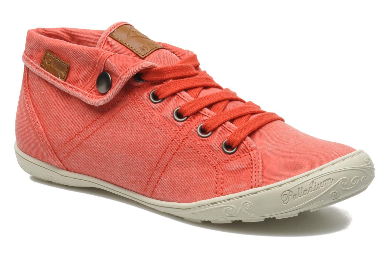 Sneakers P-L-D-M By Palladium Gaetane Twl Rød detaljeret billede af skoene