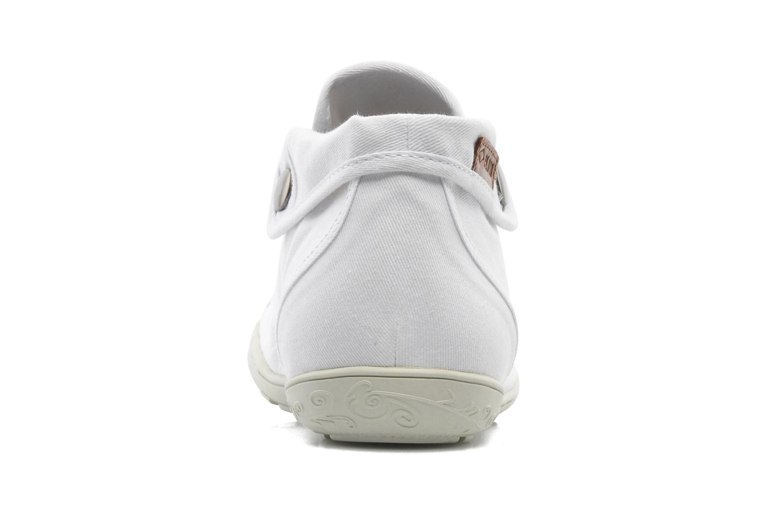 Trainers P-L-D-M By Palladium Gaetane Twl White view from the right