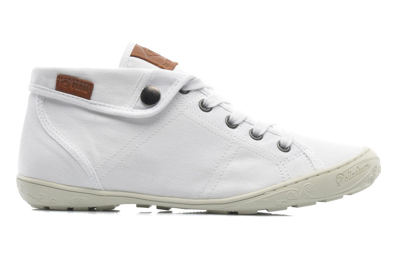 Sneaker P-L-D-M By Palladium Gaetane Twl weiß ansicht von hinten