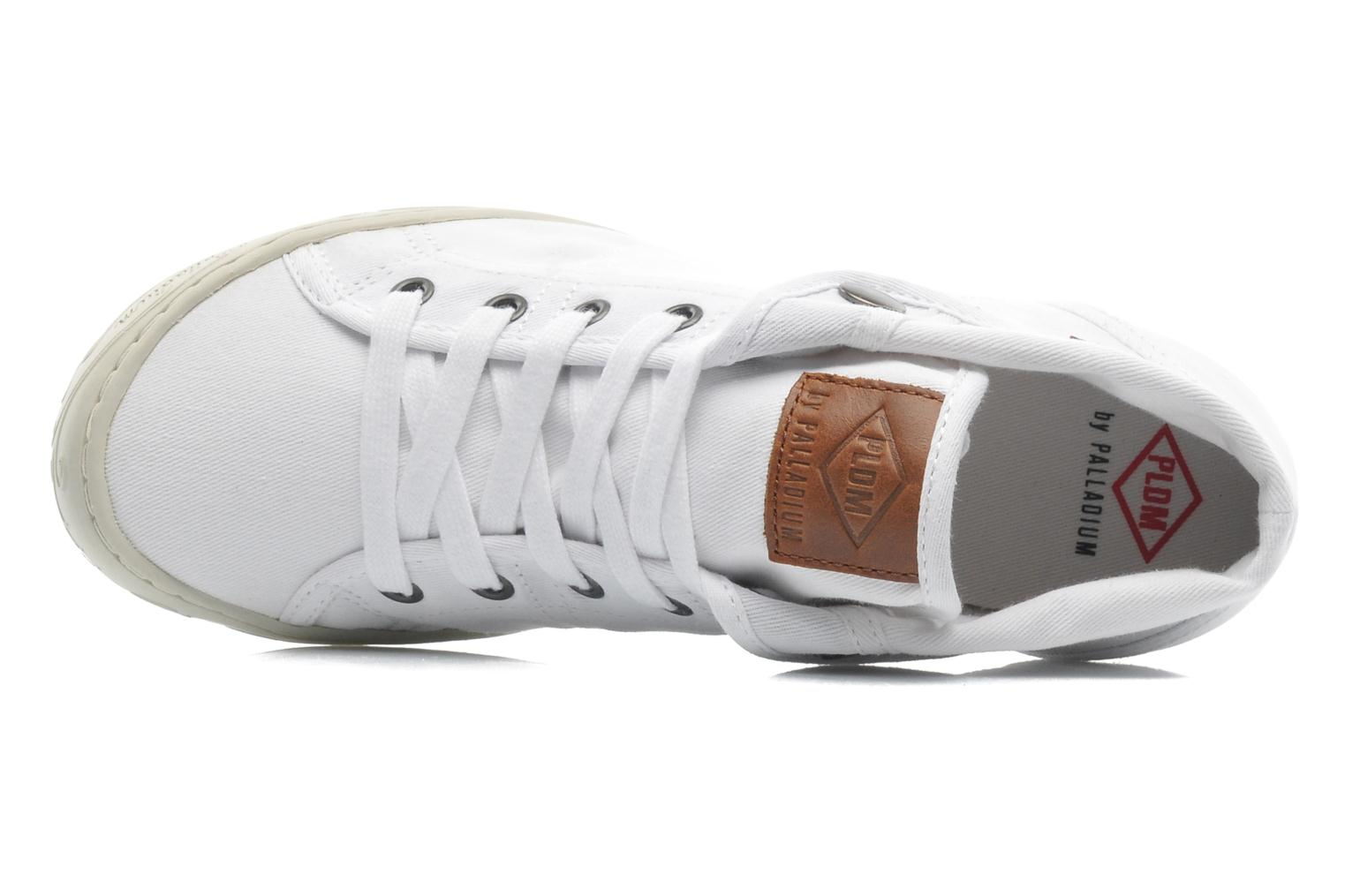 Trainers P-L-D-M By Palladium Gaetane Twl White view from the left