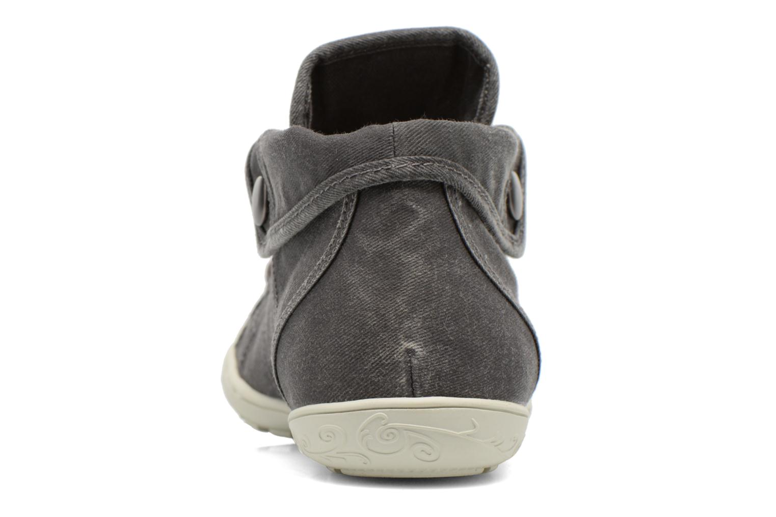 Trainers P-L-D-M By Palladium Gaetane Twl Grey view from the right