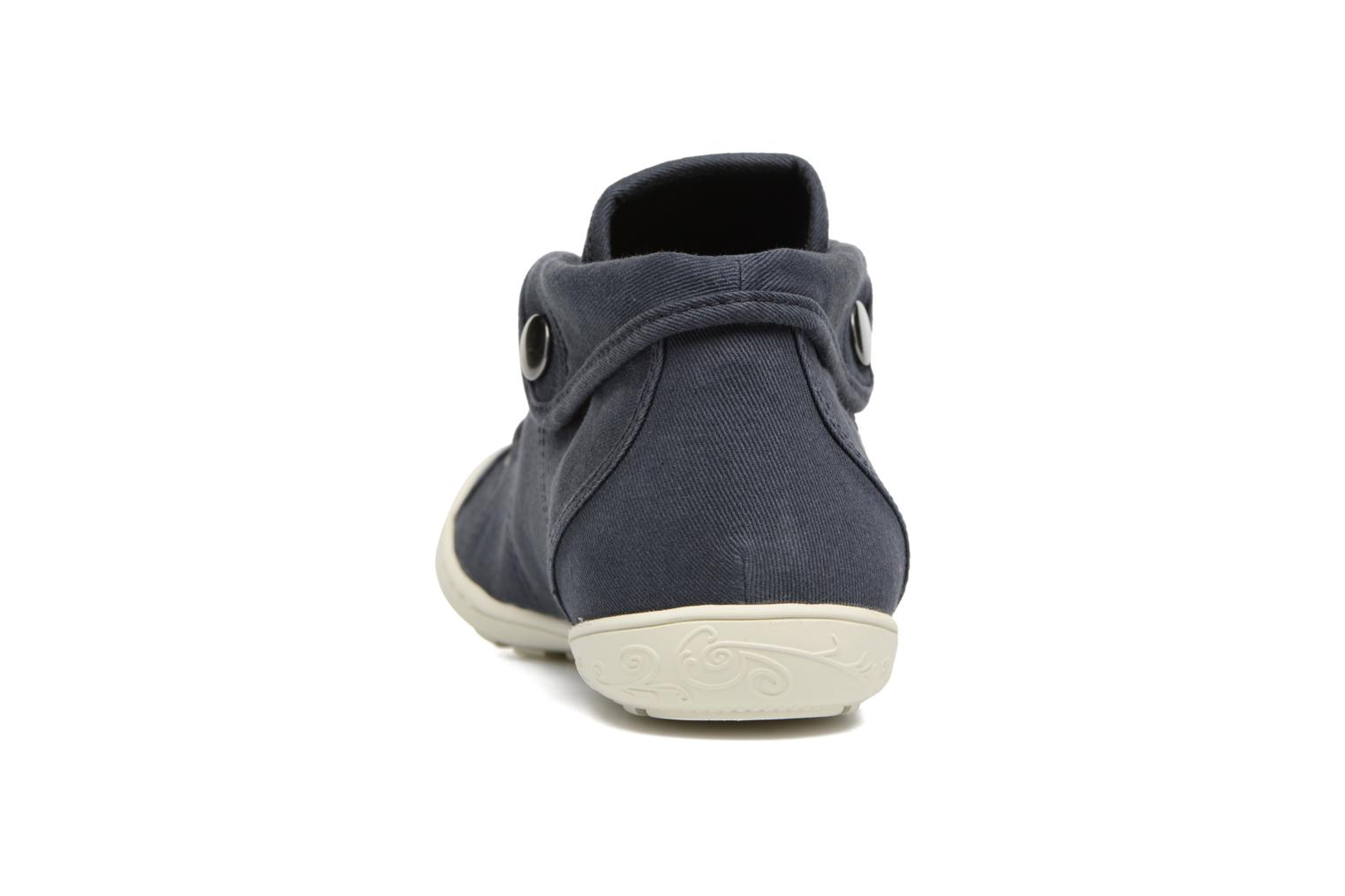 Trainers P-L-D-M By Palladium Gaetane Twl Blue view from the right