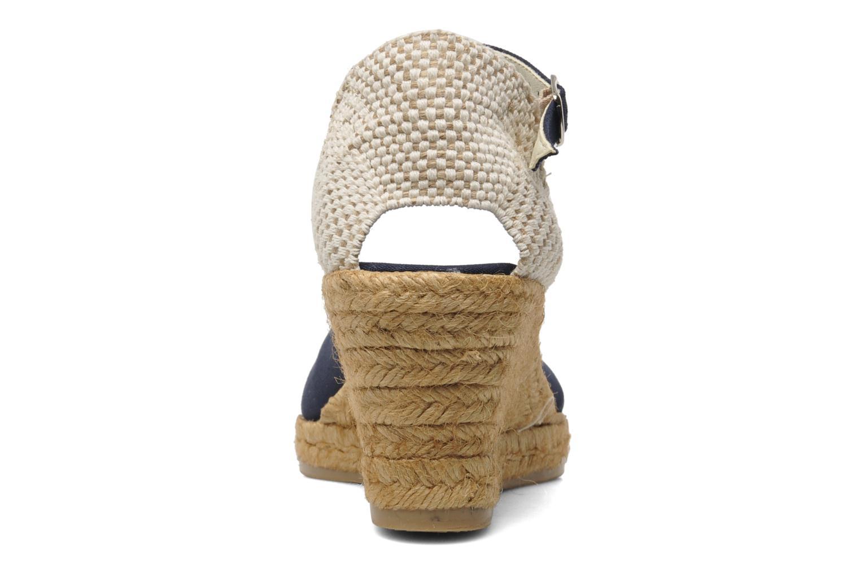 Sandales et nu-pieds Georgia Rose Ipona Bleu vue droite